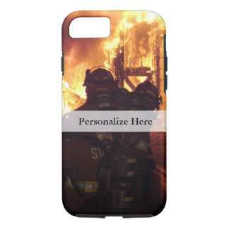 Firefighting Structure Fire iPhone 7 Case