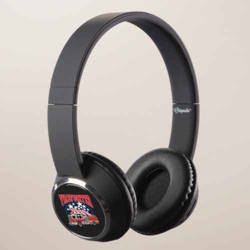 Firefighting Truck Headphones