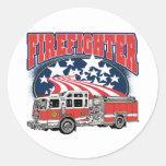 Firefighting Truck Sticker