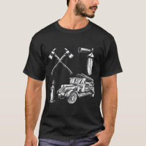 Firefighting Vintage Style Fire T-Shirt