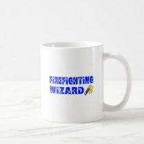 Firefighting Wizard Coffee Mug