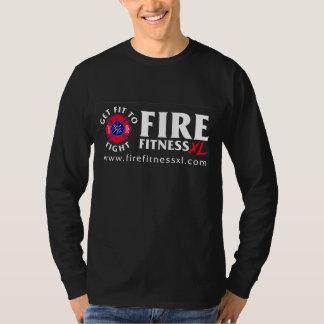 FireFitnessXL Black Nano Long Sleeve T-Shirt