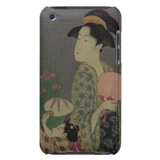 Fireflies, 1793 (colour woodcut) iPod touch case