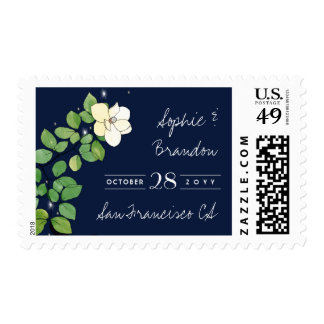 Fireflies and Magnolias Garden Save the Date Postage
