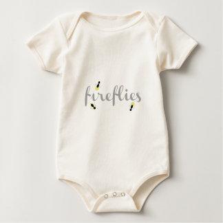 Fireflies Baby Bodysuit