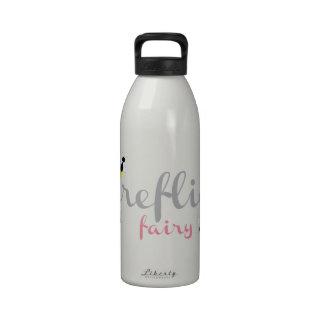 Fireflies Fairy Reusable Water Bottle