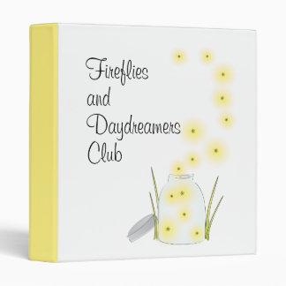 Fireflies Flying Binders