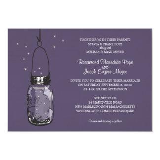 Fireflies & Mason Jar Wedding Invitations
