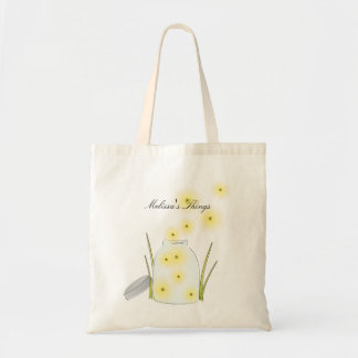 fireflies, Melissa's Things Tote Bag