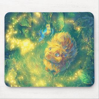 Fireflies Mouse Pad