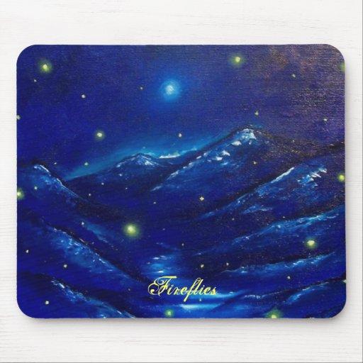 Fireflies Mousepad