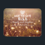 """Fireflies Nature Whimsical Save the Date Magnet<br><div class=""""desc"""">fireflies save the date magnets</div>"""
