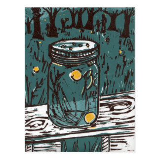 Fireflies Postcard