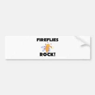 Fireflies Rock Bumper Sticker