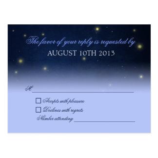 Fireflies RSVP Postcard