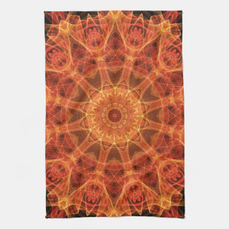 fireflower hand towel
