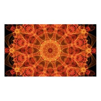 Fireflower Kaleidoscope Double-Sided Standard Business Cards (Pack Of 100)