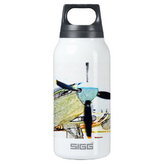 Firefly AS-6 rendering Aviation Art Thermos Bottle