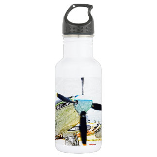 Firefly AS-6 rendering Aviation Art Water Bottle