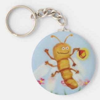 Firefly Basic Round Button Keychain