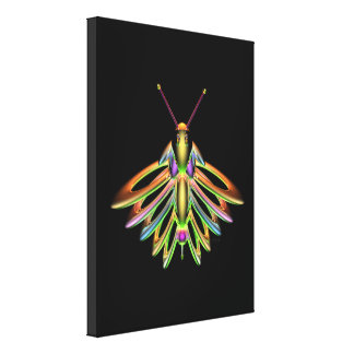 Firefly Stretched Canvas Prints