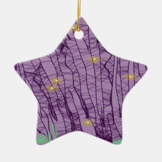 Firefly Ceramic Ornament