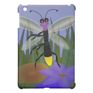Firefly Dancing on Flowers Cover For The iPad Mini