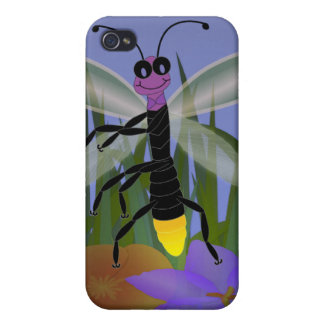 Firefly Dancing on Flowers iPhone 4/4S Cover