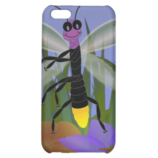 Firefly Dancing on Flowers Cover For iPhone 5C
