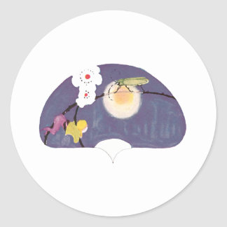Firefly Flower Fan Stickers