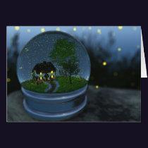 Firefly Globe Card