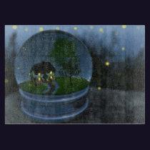 Firefly Globe Cutting Board