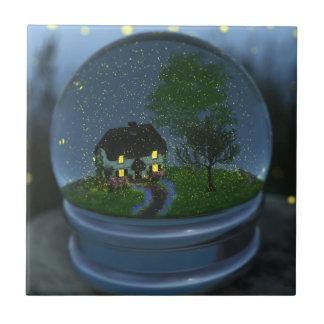 Firefly Globe Decorative Tile