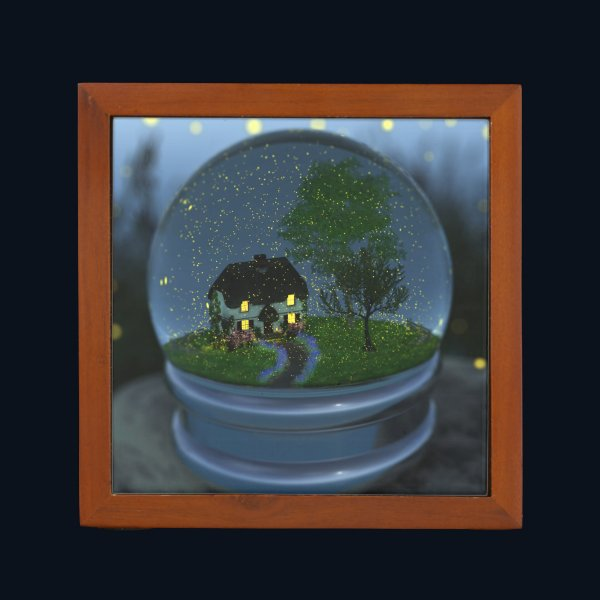 Firefly Globe Desk Organizer