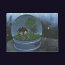 Firefly Globe Doormat
