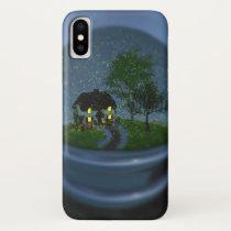 Firefly Globe iPhone Case