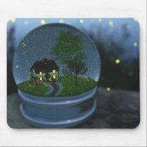 Firefly Globe Mousepad