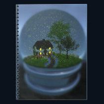 Firefly Globe Notebook