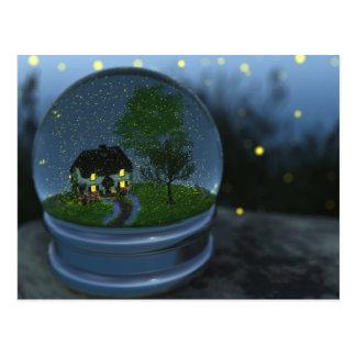 Firefly Globe Postcard