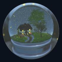 Firefly Globe Stickers