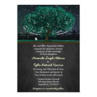 Firefly Oak Tree Wedding Invitations