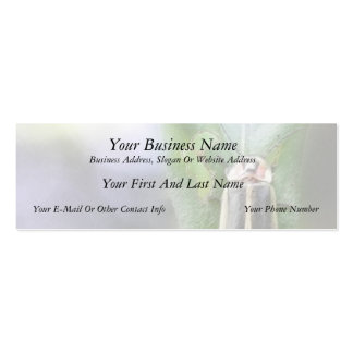 Firefly - Photuris Pyralis Double-Sided Mini Business Cards (Pack Of 20)