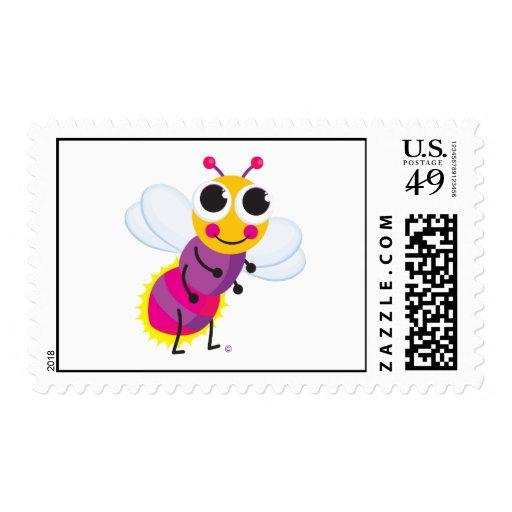 Firefly Postcard Stamp