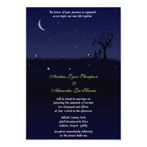 Firefly Proposal Wedding Invitation