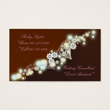 Professional Business firefly red business card
