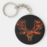 FireFly Red Flame Butterfly Design Key Chains