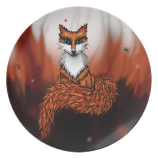 Firefox Dinner Plates