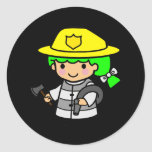 Firegirl 1 sticker