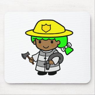 Firegirl 2 mouse pad