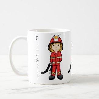 FireGirl zazzle_mug